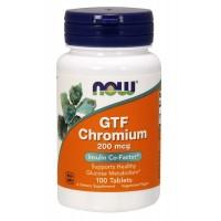 Now Foods GTF Chromium (100 таб)