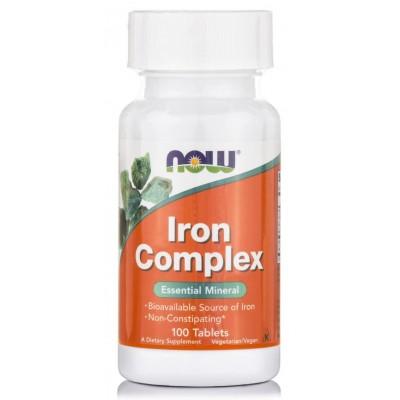 Железо Now Iron Complex (100 таб)