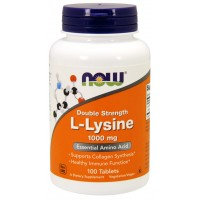 Лизин Now Foods L-Lysine 1000mg (100 таб)