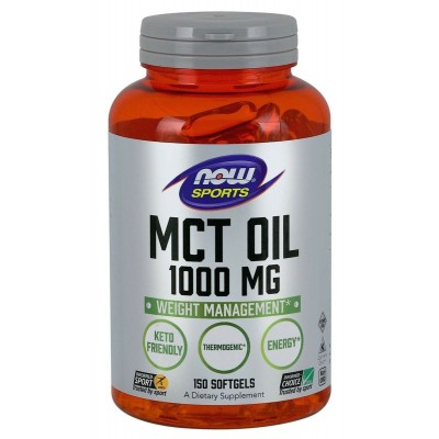 МСТ масло Now Foods MCT Oil (150 капс)