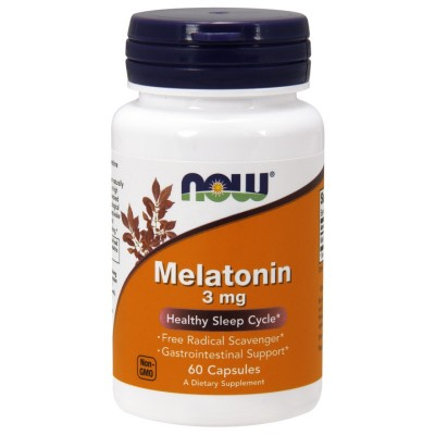 Мелатонин Now Foods Melatonin 3mg (60 капс)