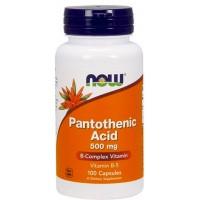 Now Foods Pantothenic Acid (100 капс)