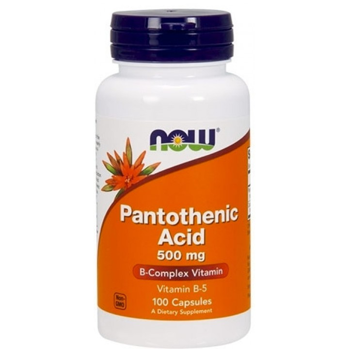 Витамин Б5 Now Foods Pantothenic Acid