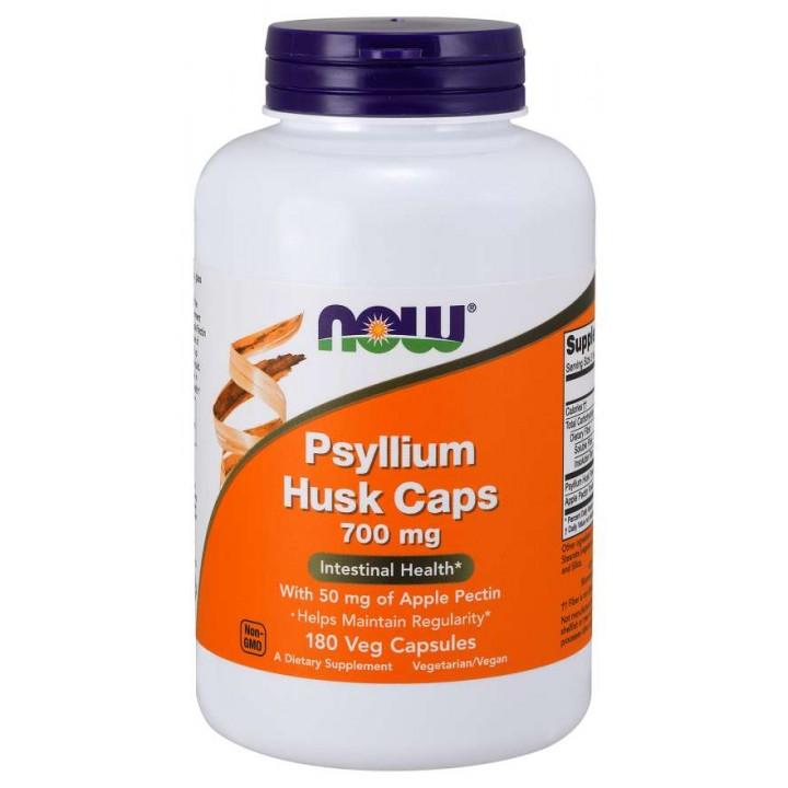 Клетчатка подорожника Now Foods Psylium Husk (180 капс)