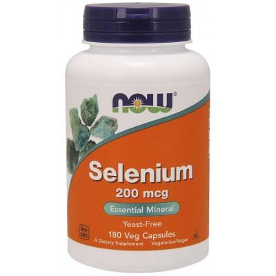 Селен Now Foods Selenium 200 mcg (180 капс)
