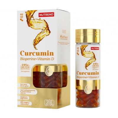 Куркумин Nutrend Curcumin + Bioperine + Vitamin D (60 капс)