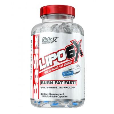 Жиросжигатель Nutrex Lipo-6X (120 капс)