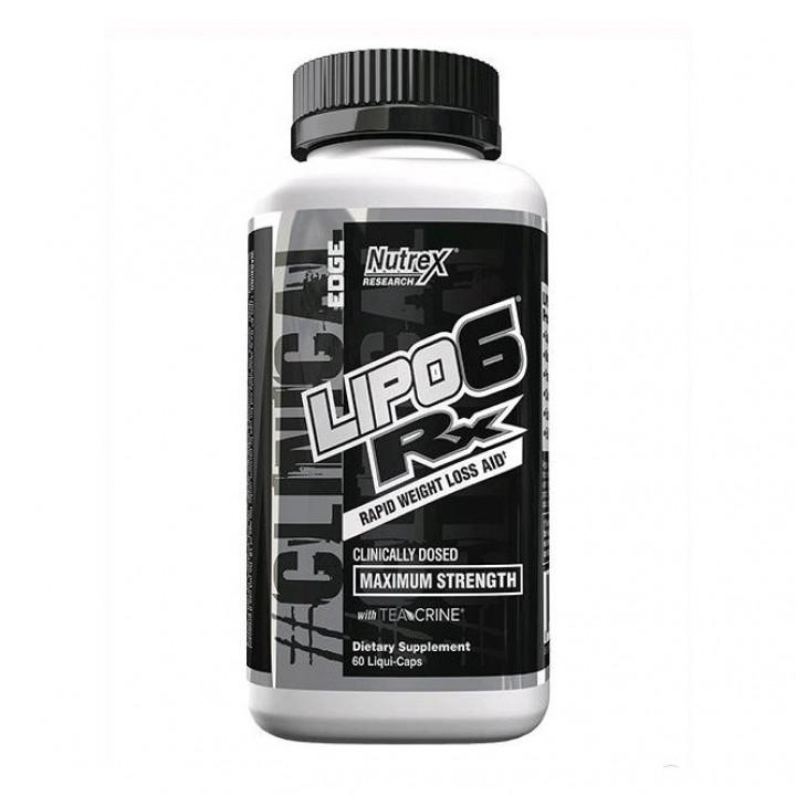 Жиросжигатель Nutrex Lipo-6 Rx
