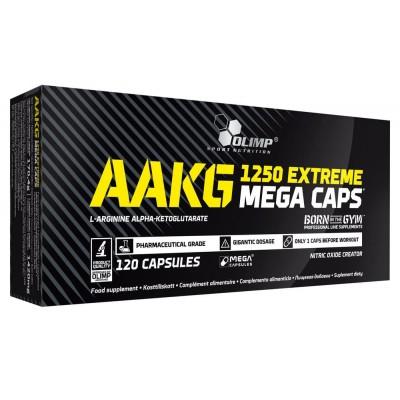 Аргинин Olimp AAKG 1250 Extreme Mega Caps (30 капс)