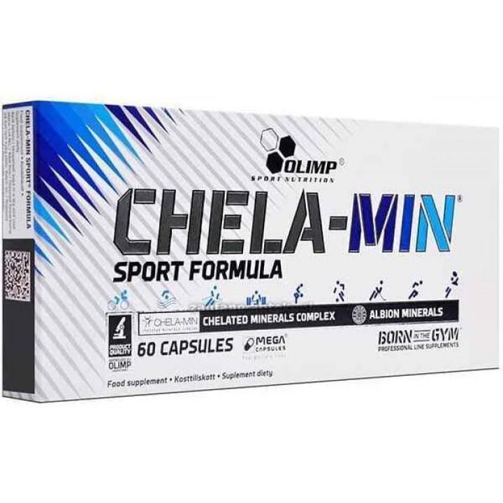 Минералы Olimp Chela-Min Sport Formula (60 капс)