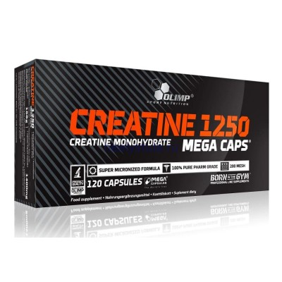Креатин Olimp Creatine Mega Caps 1250 (120 капс)