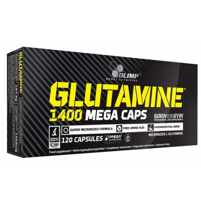 Глютамин Olimp Glutamine Mega Caps 1400 (120 капс)