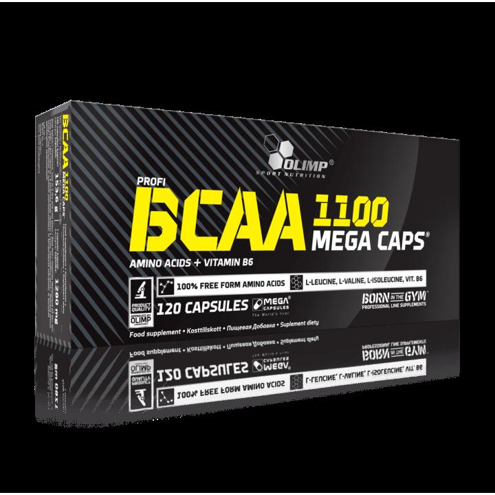 Аминокислоты BCAA Mega Caps от Olimp