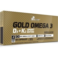 Olimp Omega-3 D3+K2 (60 капс)