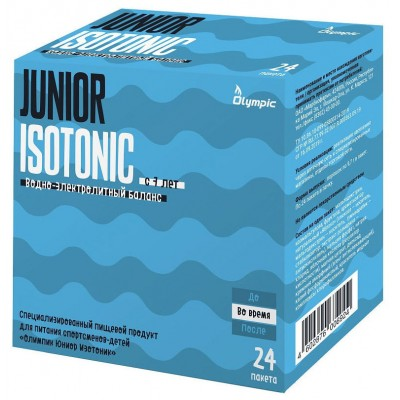 Изотоник для детей Olympic Junior Isotonic (24 пак)