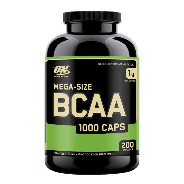 Аминокислоты Optimum Nutrition BCAA 1000 (200 капс)