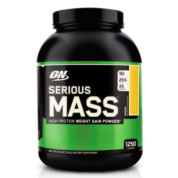 Гейнер Optimum Nutrition Serious Mass (2700 гр)