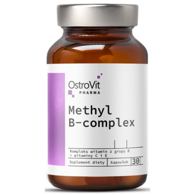 Витамины группы Б OstroVit Pharma Methyl B-Complex (30 капс)