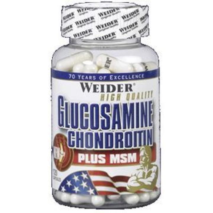 Для связок и суставов Glucosamine + Chondroitin plus MSM
