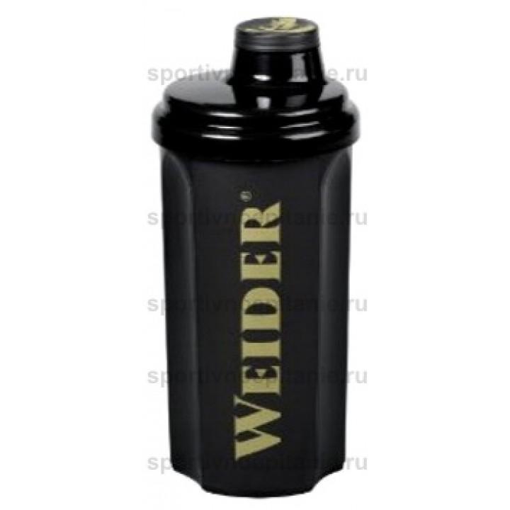 Шейкер Weider 700 мл black