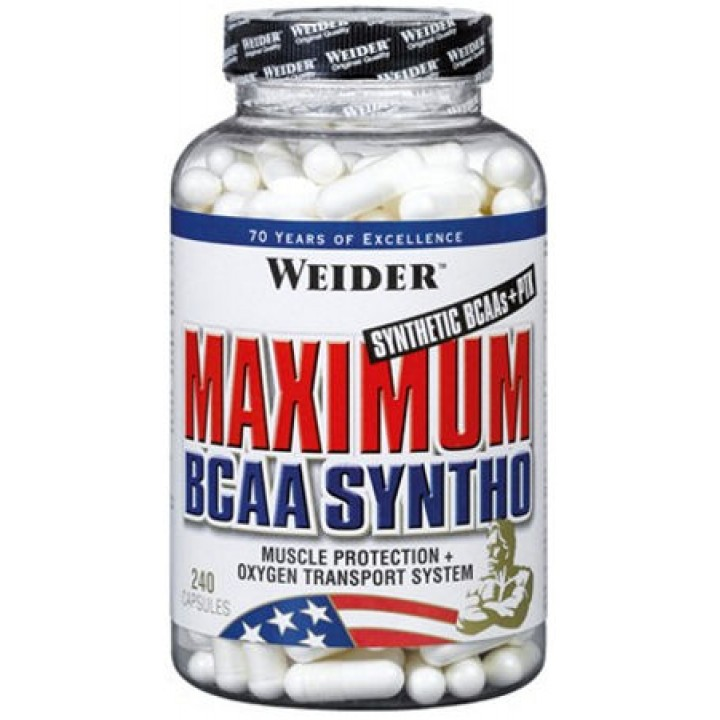 Аминокислоты Maximum BCAA Syntho от Weider