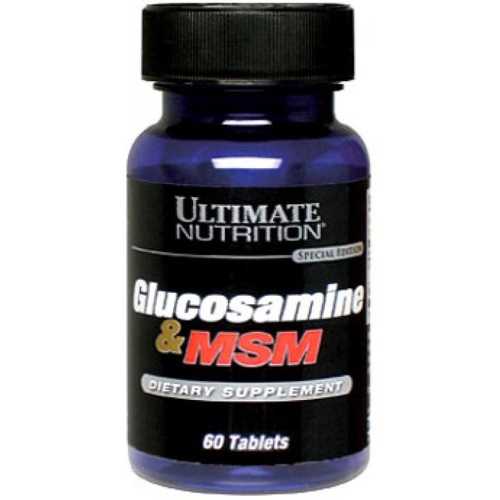 Для связок и суставов Glucosamine MSM