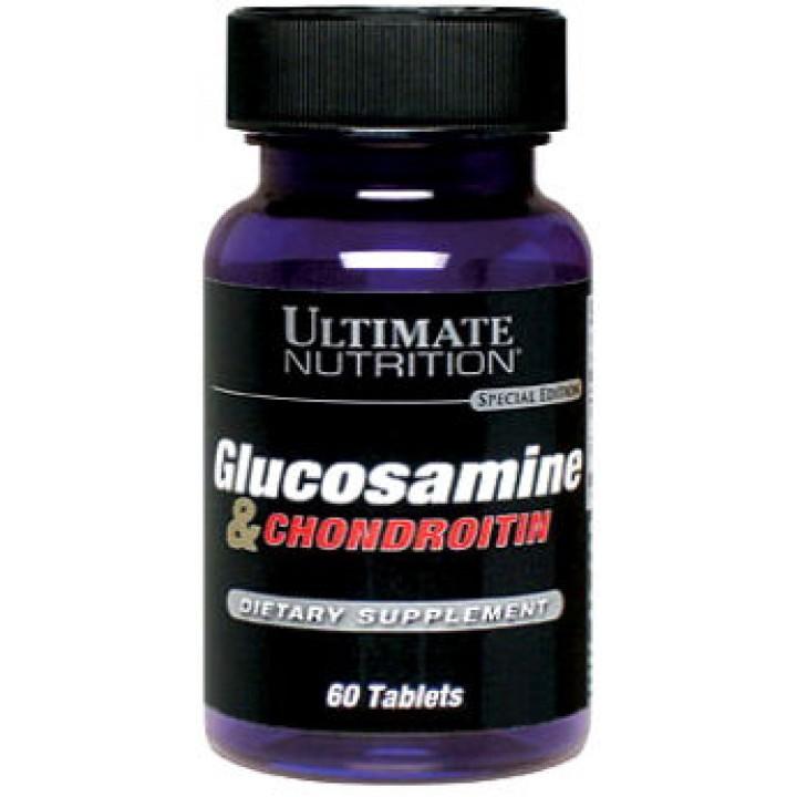 Глюкозамин Хондроитин Glucosamine Chondroitin от Ultimate Nutrition