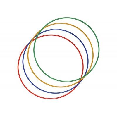 Обруч гимнастический пластик D750 мм
