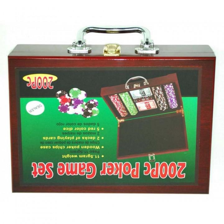 Покер в чемодане сувенирный 6642-S1
