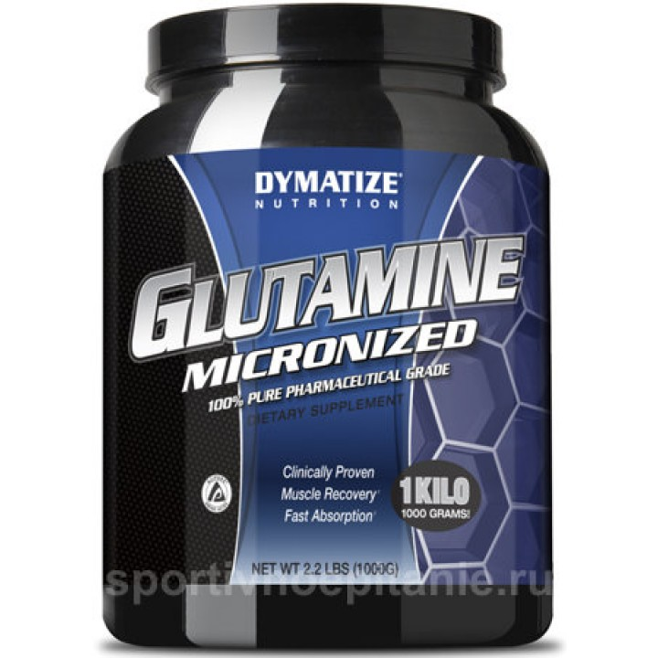 Глютамин Dymatize Nutrition Glutamine Micronized