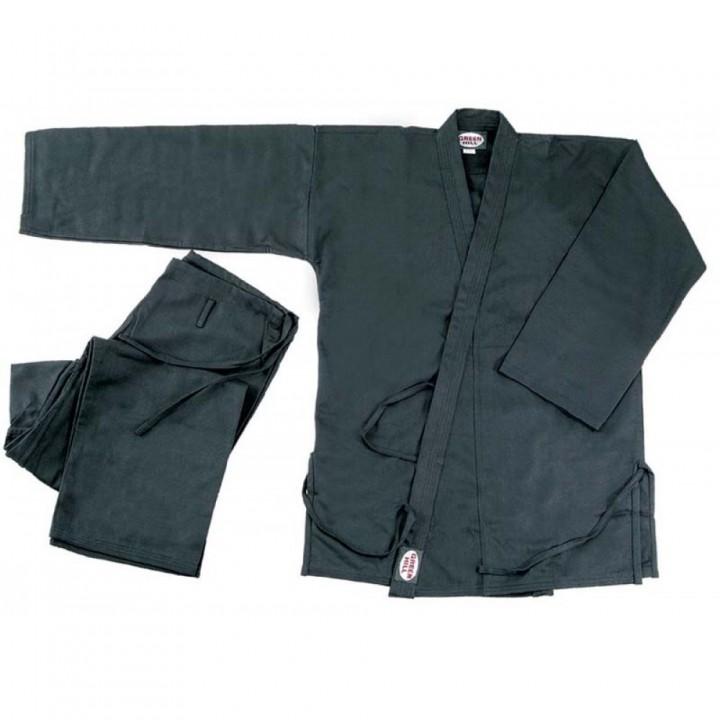 Кимоно д/каратэ 4 р.170 KAR-BLACK-4