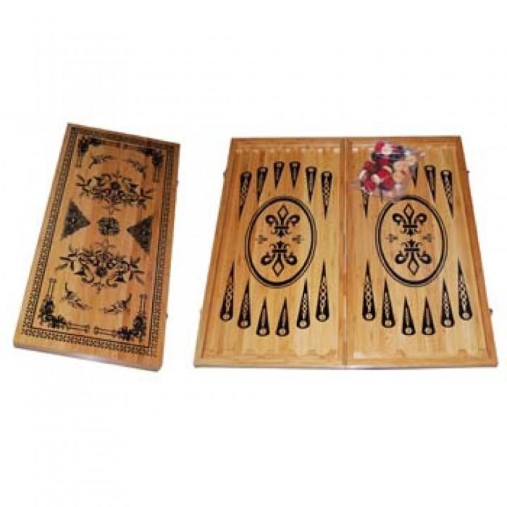 Нарды бамбуковые B60/30