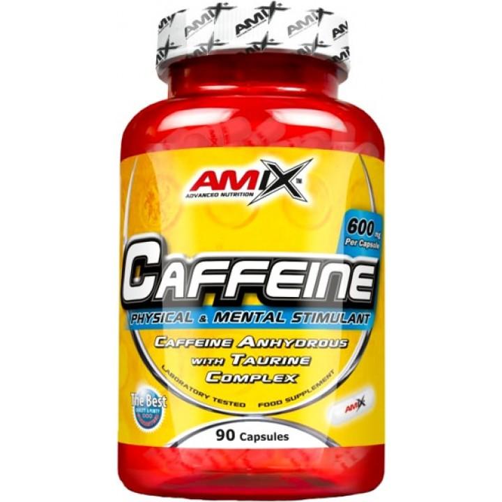 Кофеин с таурином AMIX Caffeine 200mg with Taurine