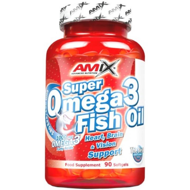 Жирные кислоты Super Omega 3 Fish Oil 1000mg