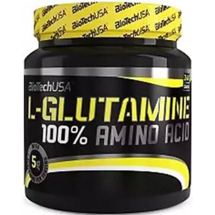Глютамин BioTech USA 100% L-Glutamine