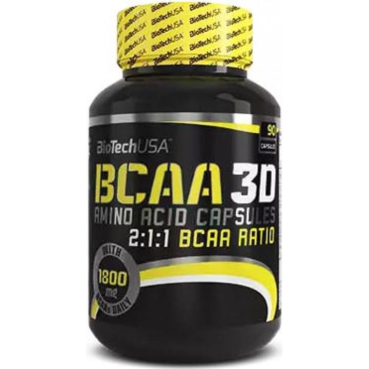 Аминокислоты BCAA 3D от BioTech USA