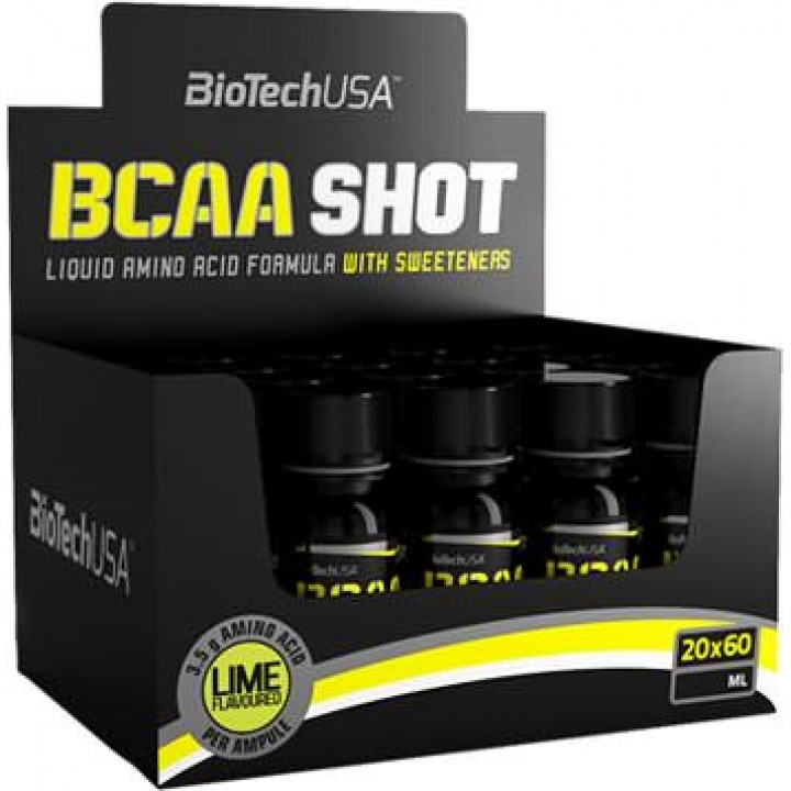 Аминокислоты BCAA Shot от BioTech USA