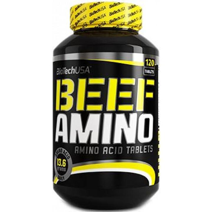 Аминокислоты из говяжьего протеина BioTech USA Beef Amino