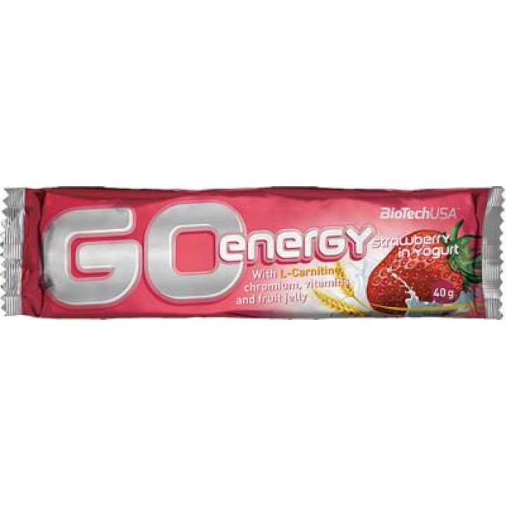Энергетический батончик BioTech USA Go Energy Bar