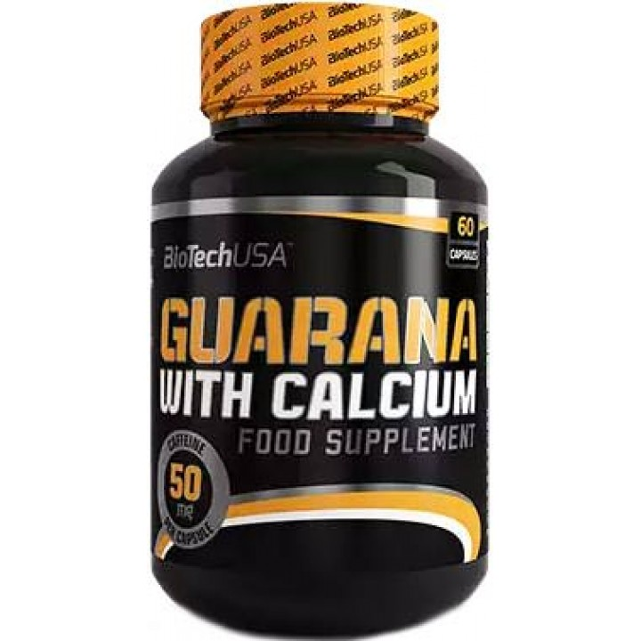 Гуарана BioTech USA Guarana with Calcium