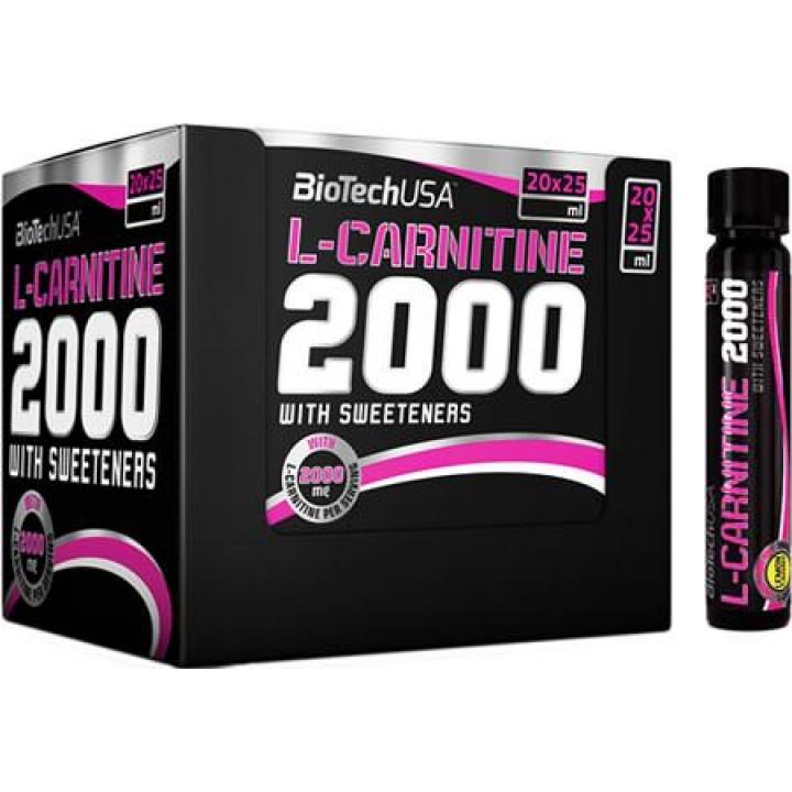 Карнитин BioTech USA L-Carnitine 2000