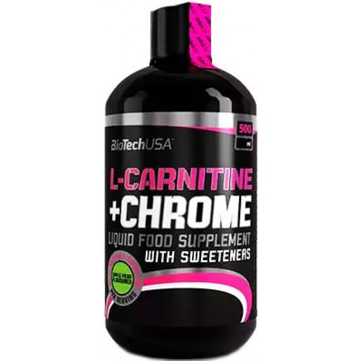 Карнитин BioTech USA L-Carnitine + Chrome