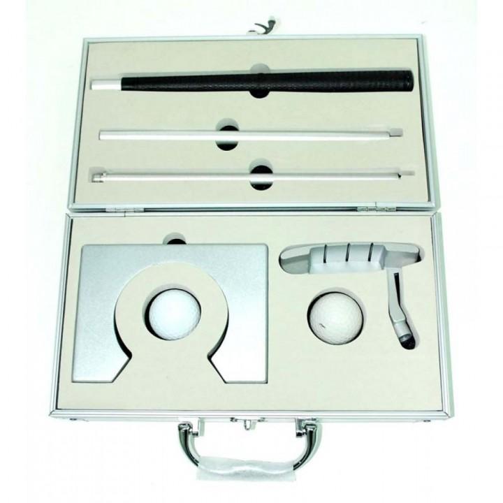 Набор для гольфа в чемодане (офисный) C-1001