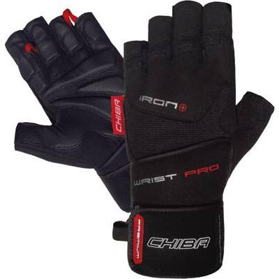 Мужские перчатки для фитнеса Chiba Iron Plus II