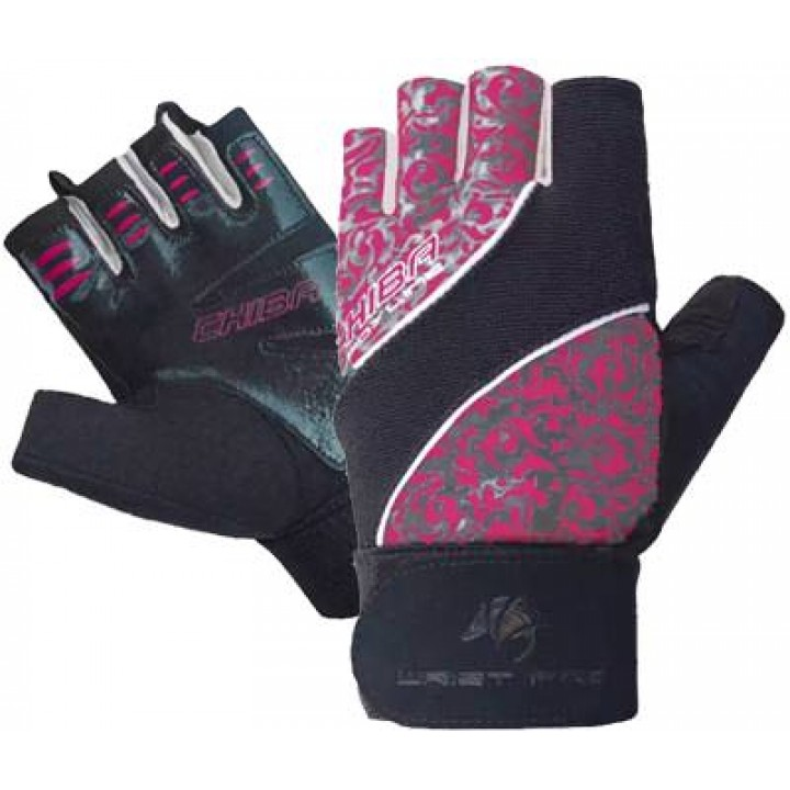 Перчатки для фитнеса женские Chiba Lady Wristpro