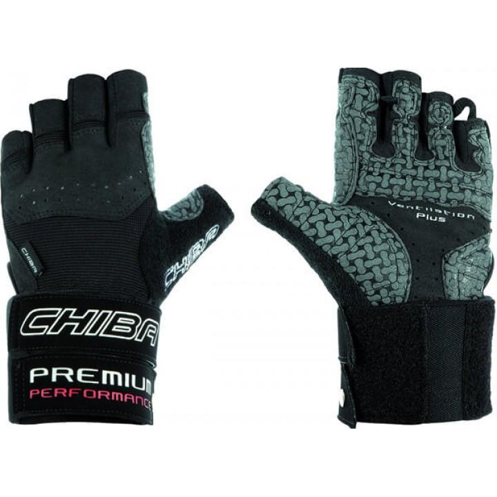 Спортивные перчатки Chiba Premium Line Premium Wristguard