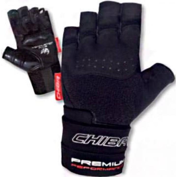 Перчатки для фитнеса Chiba Premium Wristguard