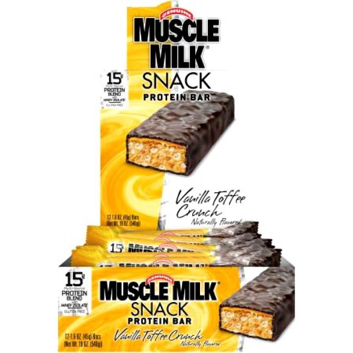 Протеиновые батончики CytoSport Muscle Milk Snack Bar