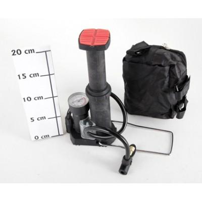 Насос для мячей и матрасов ножной мини с манометром Т38452