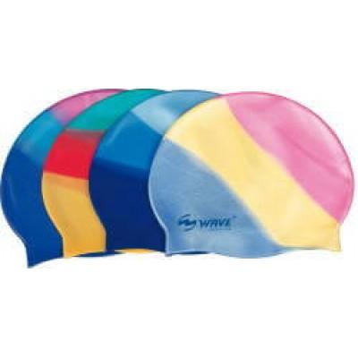 Шапочка силикон многоцветная WAVE (Китай)